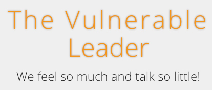 The Vulnerable Leader - Logo